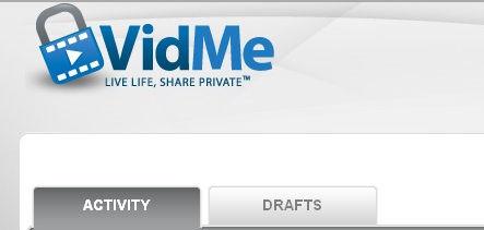 compartilhar vídeos privados