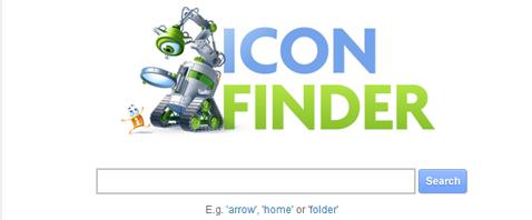 Site de busca de Icones