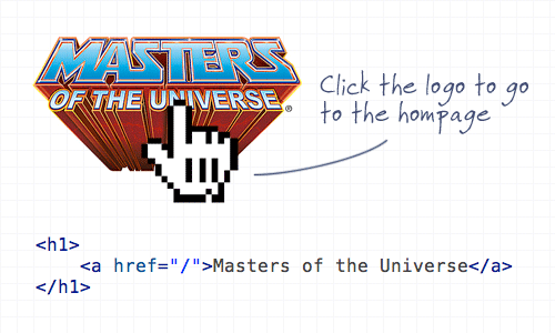 Logo com link