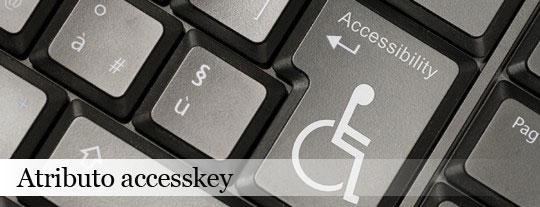 acessibilidade com atributo accesskey