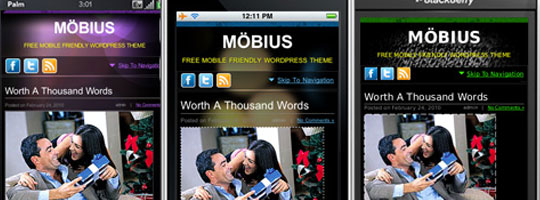 Tema wordpress mobile