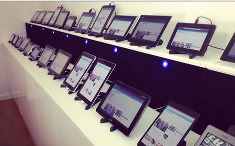 Laboratório de testes móbile