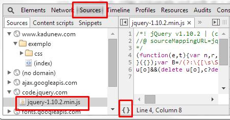 codigo javascript minificado
