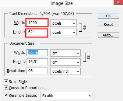Aumentando a imagem em 2X